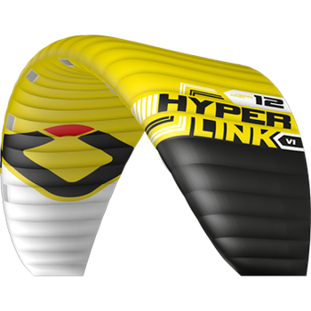 Ozone Hyperlink V1 Kite Only 12m², Yellow